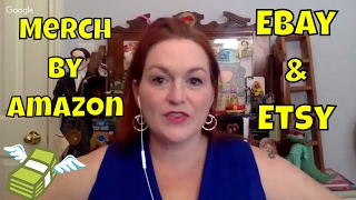 What I Sold on Ebay & Etsy AND Merch by Amazon Sales, What Sells on Ebay