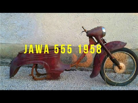 [ Oživenie ] - Jawa 555 1958