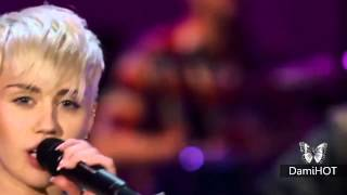 Repeat youtube video Miley Cyrus - Adore You live (Unplugged)
