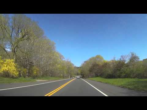 CT-2 East / Norwich-Westerly Rd  Connecticut Video