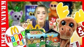 HAPPY MEAL Teenie Beanie Boo's SERIA 1! Otwieramy Domowe ZOO z Maskotkami od MCDONALD'S