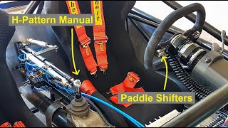 Converting a Manual Transmission to Paddle Shift (Automated Manual) - E55 ASL Part 19