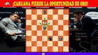 ¡LA TENÍA GANADA!: Carlsen vs Caruana | Campeonato del Mundo de ajedrez 2018 (Partida 6)