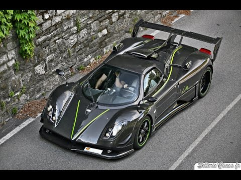 Pagani Zonda LM Roadster 1of1 - LOUD Sound & Driving - YouTube