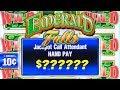 HIGH LIMIT JACKPOT WINNER! ★ $50 BETS ON EMERALD FALLS BIG ...