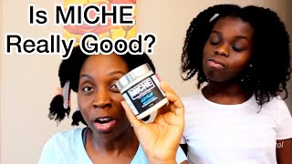 Daughter DEEP CONDITIONS my Natural Hair + How Often to Deep Condition   Miche Lush Deep Conditioner