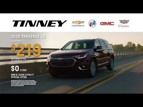 2020 Chevy Traverse Lease Deals And Offers At Tinney Automotive