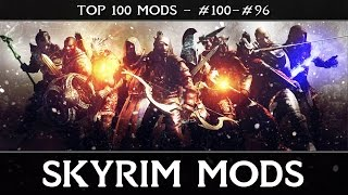 SKYRIM MODS - TOP 100: #100-96 - Uncapper, Uniques, & Interface Skins
