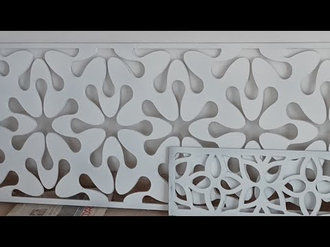 Mdf jaali and acrylic sheet for interior designing