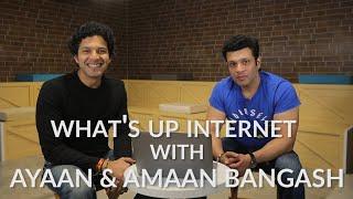 What's Up Internet !? Ayaan Ali Bangash & Amaan Ali Bangash take us through their Instagram accounts