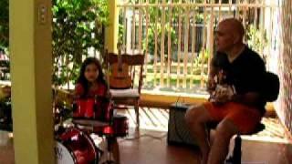 baterista nica de 3 anos