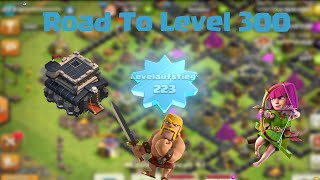 ROAD TO LEVEL 300 HDV 9 | Level 223 UP ! [clash Of Clans FR]