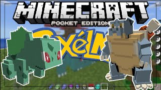 MINECRAFT PE 0.15.4 - NEW PIXELMON BETA in MCPE 0.15.4!! - Minecraft PE (Pocket Edition)