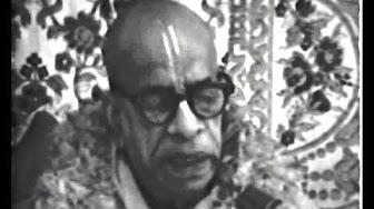 Шримад Бхагаватам 2.1.1 - Шрила Прабхупада
