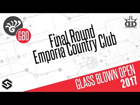 2017 Glass Blown Open - LIVE Broadcast - Awards Ceremony and Putting Finals - Round 3 Play CANCELLED