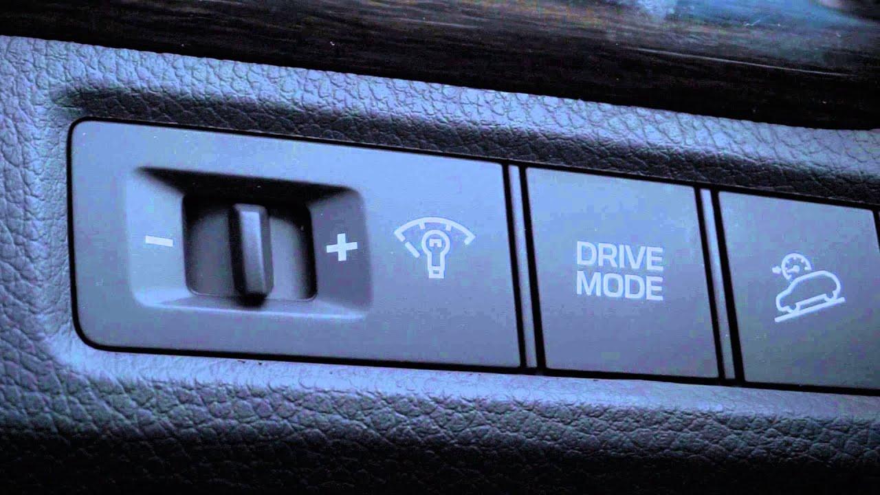 2017 Hyundai Santa Fe Sport Drive Mode