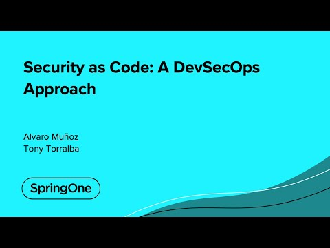 Security as Code: A DevSecOps Approach