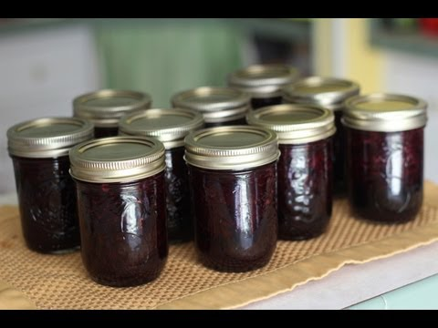 How To Make Blueberry Jam- LOW SUGAR RECIPE