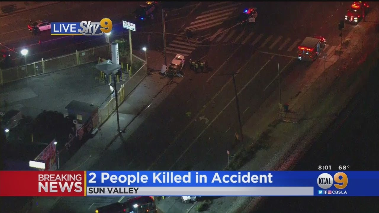 2 People Killed In Accident In Sun Valley
