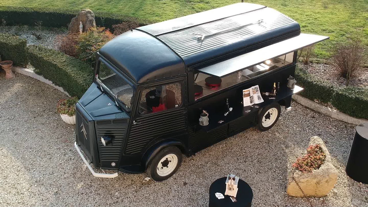 Citroen Hy Food Truck Officine Vivaldi