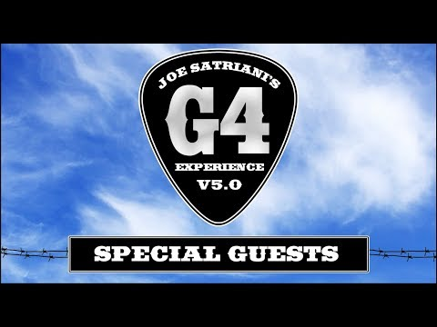 Joe Satriani G4 Experience 2019 Special Guests Mp3