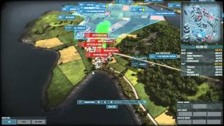 Wargame Air Land Battle Replay Commentary
