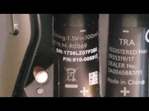 Video Showing The Serial Number On The Mouse