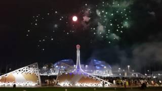 Отборочный тур Мирового фестиваля фейерверков Сочи 2018. Выступление Пиророс 1 часть