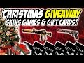 GIVEAWAY TIME!! GET FREE CS:GO SKINS GAMES & STEAM GIFT CARDS!