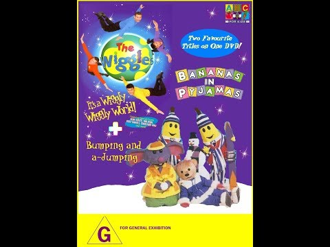 Opening to The Wiggles + Bananas in Pyjamas - IAWWW + BAAJ 2018 DVD (re released)