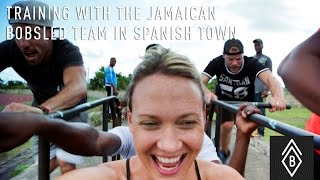 Training With The Jamaican Bobsled Team In Spanish Town