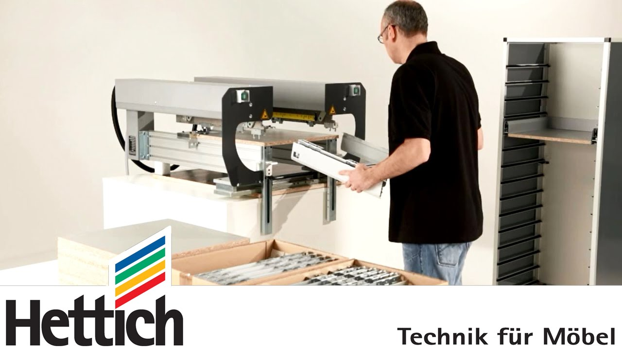 arcifit 300: assembly aid for arcitech drawers madehettich