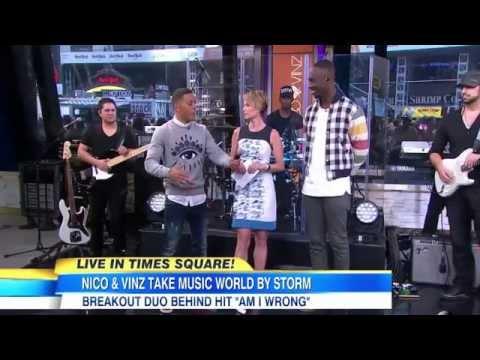 Nico and Vinz interview Good Morning America Nico & Vinz Am I wrong