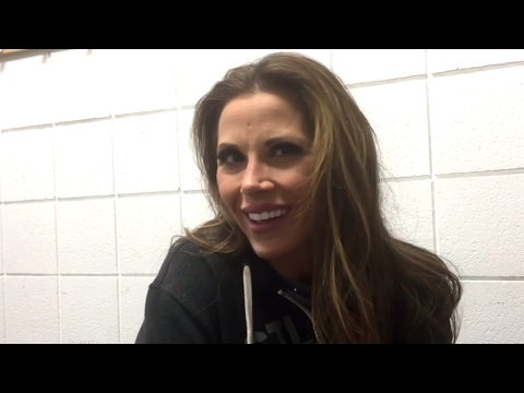 Mickie James talks about being a mother and a WWE Superstar