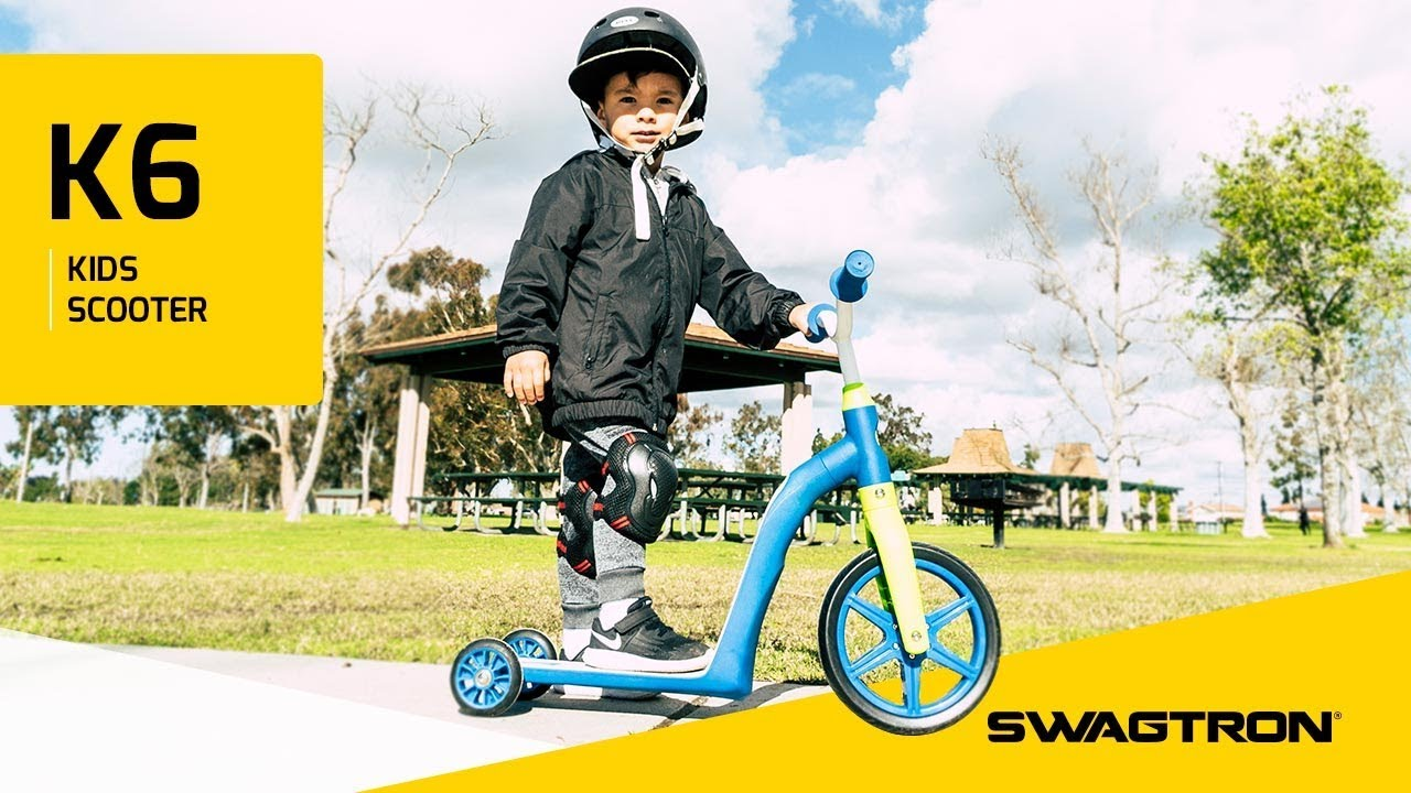 Go As You Grow Swagtron K6 4 In 1 Convertible Toddler Scooter And Balance Bike