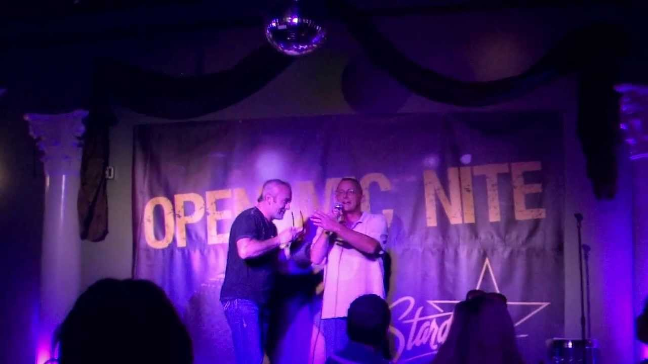 Download Wayne Mathews' Winning Announcement of The Open Mic Contest at The Stardome Comedy Club