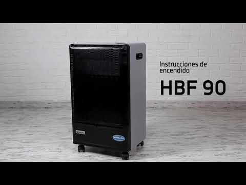 Estufa de gas de llama azul - Orbegozo HBF90