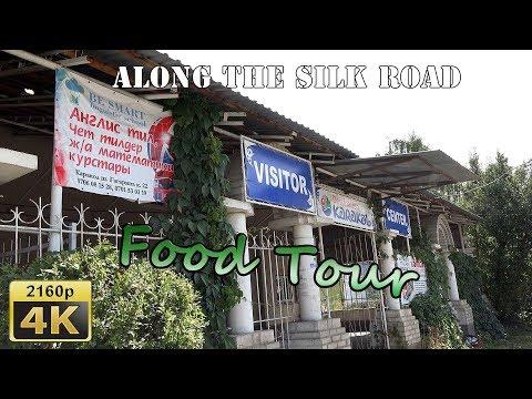 Food Tour in Karakol - Kyrgyzstan 4K Travel Channel