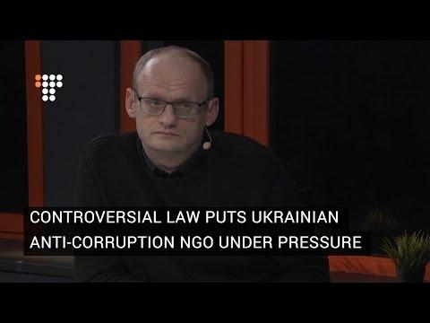 Controversial Law Puts Ukrainian Anti-Corruption NGO Under Pressure