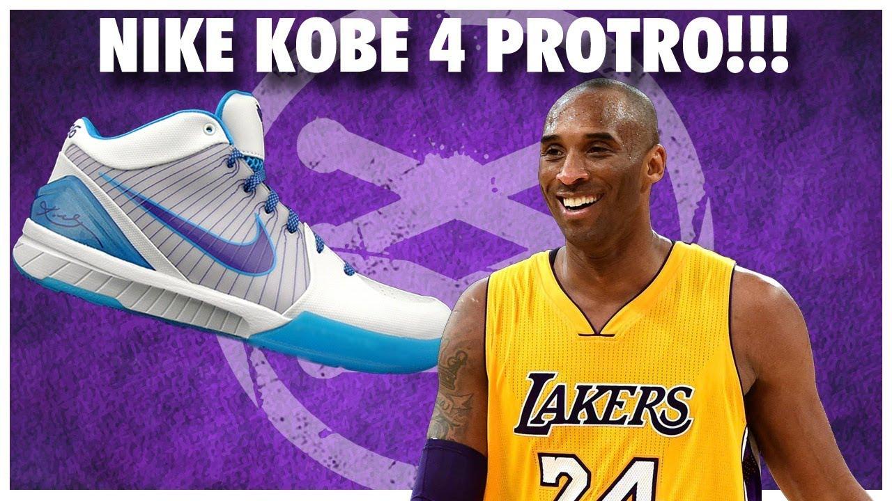 de57bd94 Nike Kobe 4 PROTRO in 2019 !!! - YouTube