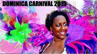 VIBES VIDEO:Dominica Carnival 2015 (Monday & Tuesday) Roseau