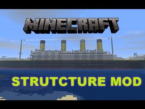 minecraft instant structure mod titanic mod youtube. Black Bedroom Furniture Sets. Home Design Ideas