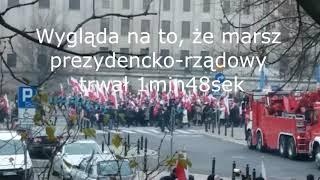 Marsz Niepodległości 2018 rządowy