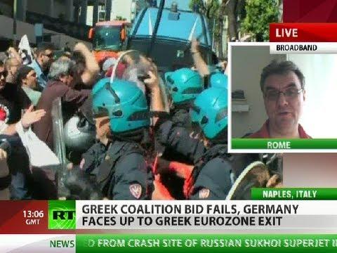 Suicide & Revolt: 'Some EU states ready for Euro Spring'