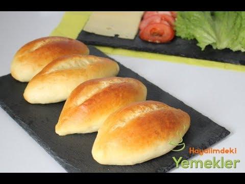 Yumuşak  Sandviç Ekmekler Yapın / Küçük SOMUN  Ekmek Tarifleri