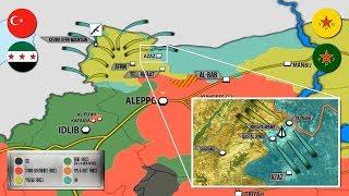 29 января 2018. Военная обстановка в Сирии. Турция заявляет о 557 убитых боевиков за 9 дней.