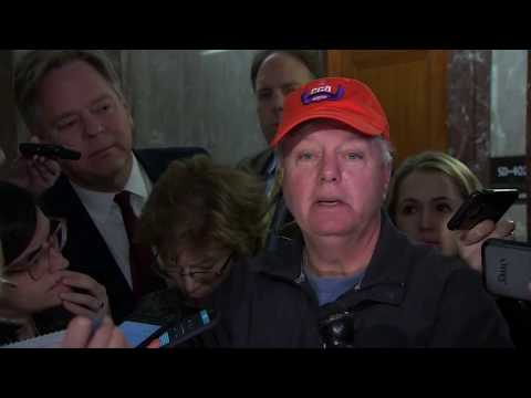 Senator Graham rips into Stephen Miller over U.S. government shutdown
