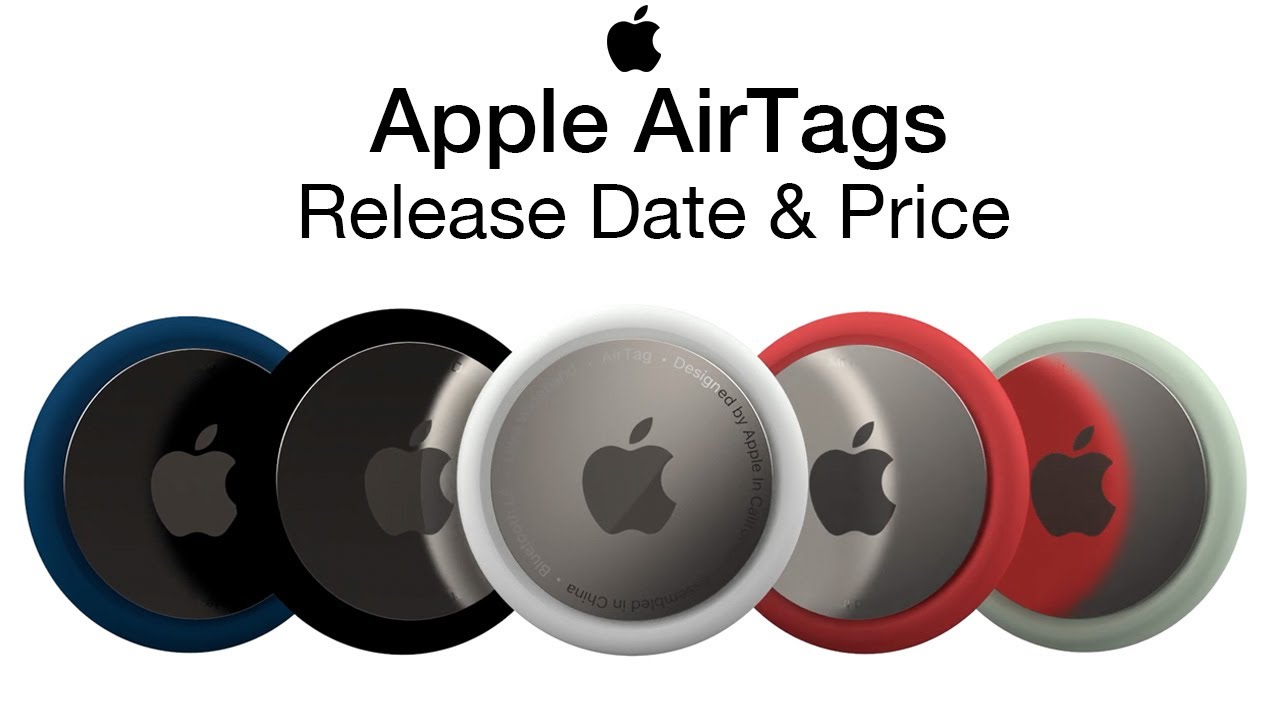 Apple Airtags Release Date And Price What Are Airtags Youtube
