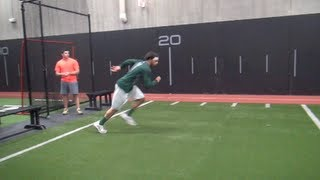 """Baseball Drills"" To Run Faster And Steal More Bases - Faster 60 yard Time"