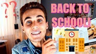 BACK TO SCHOOL 2017 I Porady jak przetrwać szkołę!